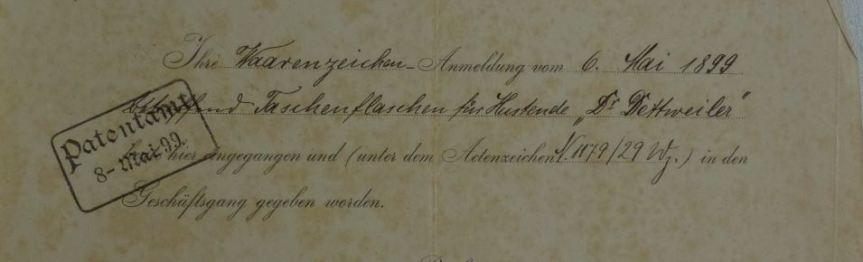 Die Boffzener Glasindustrie offiziell – Auszüge aus dem Deutschen Reichsanzeiger1874-1944